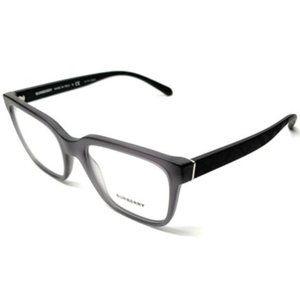 Burberry Men's Grey Square Eyeglasses!